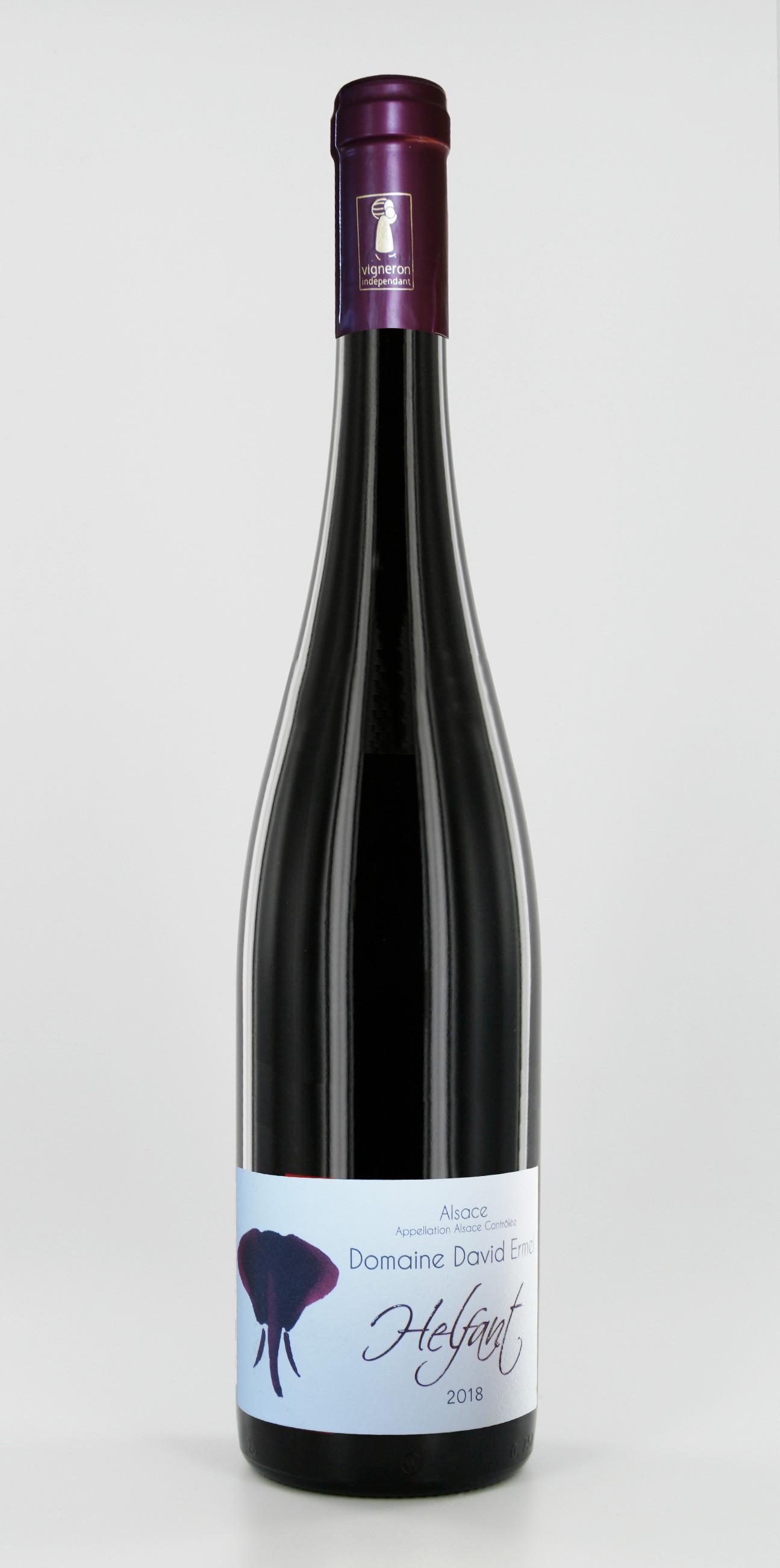 Pinot Noir  - Vins Hunawihr Alsace 2018